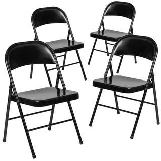 Swell Grey Folding Chairs Shop Online At Overstock Ocoug Best Dining Table And Chair Ideas Images Ocougorg