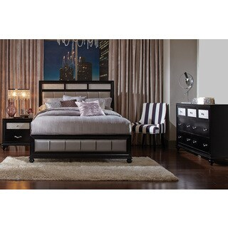 Hughes Allura 3-piece Bedroom Set with Bed, Nightsteand, and Dresser