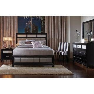 Hughes Allura 5-piece Bedroom Set With Bed, 2 Nightstands, Dresser, and Mirror