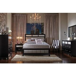 Hughes Allura 6-piece Bedroom Set with Bed, 2 Nightstands, Dresser, Mirror, and Chest