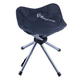 Slacker Chair Folding Stool Lightweight Portable Stable Foot Rest Seat for Outdoor Fishing Camping Hiking
