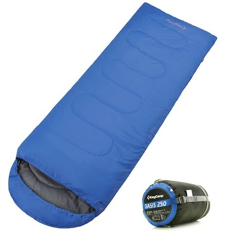 Sleeping Bag 4 Season Lightweight Comfort with Compression Sack Camping Backpack