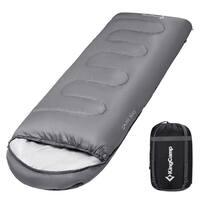 Envelop Sleeping Bag 4 Season Lightweight Comfort with Compression Sack Camping Backpack