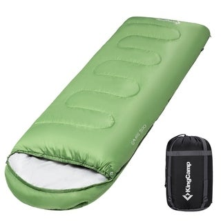 Envelop Sleeping Bag 4 Season Lightweight Comfort with Compression Sack Camping Backpack