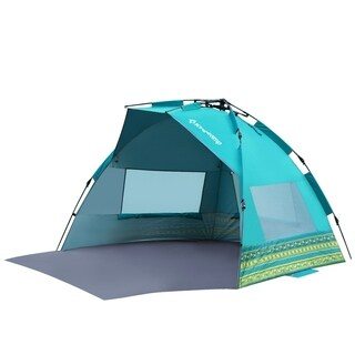 KingCamp Pop Up Changing Tent Detachable Floor Portable with Carry Bag