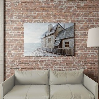 "Yomemite Home Décor ""Coastal Pied-a-terre"" 3D Wall Art"