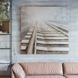 "Yomemite Home Décor ""Vanishing into the Distance II"" 3D Wall Art"