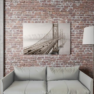 "Yomemite Home Décor ""City Overpass"" 3D Wall Art"