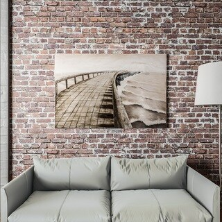 "Yomemite Home Décor ""Pier Away"" 3D Wall Art"
