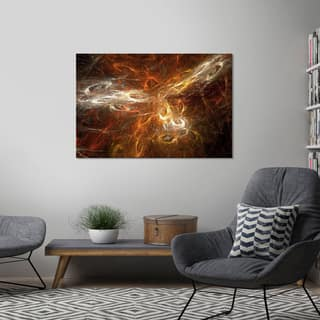 "Yosemite Home Décor ""A Universe Is Born"" Tempered Glass Wall Art"