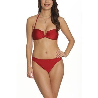 Pixie Pier Stappy Bandeau Bikini Set (4 options available)