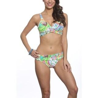 Pixie Pier Criss Cross Top Bikini Set
