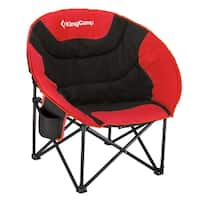 KingCamp Moon Saucer Camping Chair with Cup Holder