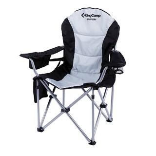 KingCamp Folding Quad Chair Lumbar Back Support Light Weight Portable