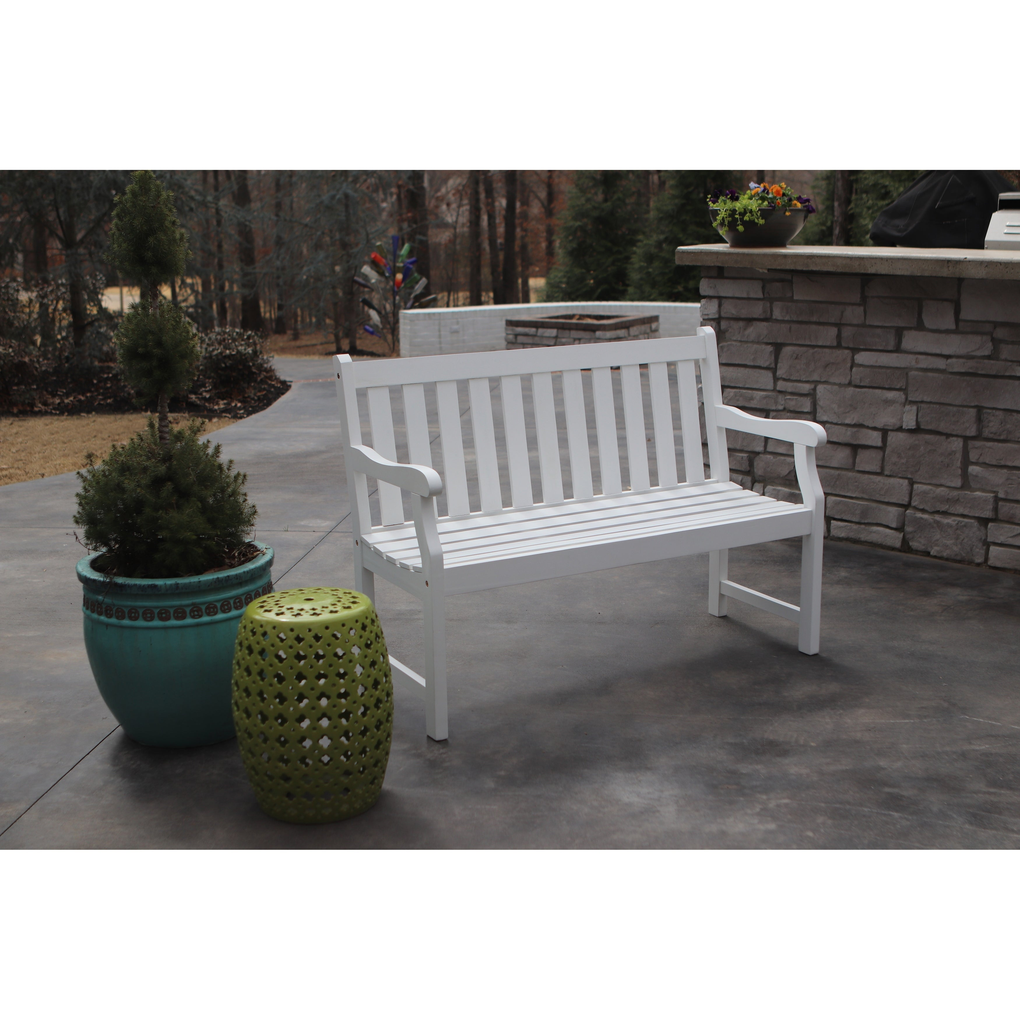 Tremendous Buy Outdoor Benches Online At Overstock Our Best Patio Gmtry Best Dining Table And Chair Ideas Images Gmtryco