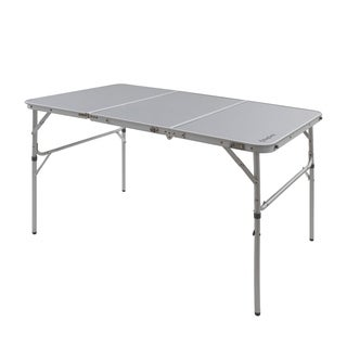 KingCamp Aluminum Alloy 3-Fold Camp Table with Carry Bag Adjustable Height
