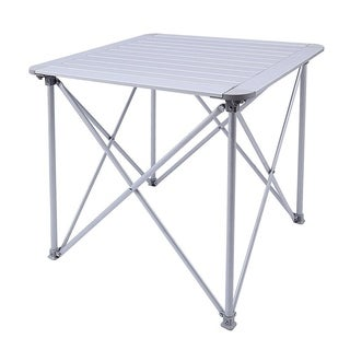 KingCamp Aluminum Alloy Folding Camp Table Roll-Top Lightweight Portable Stable Versatile