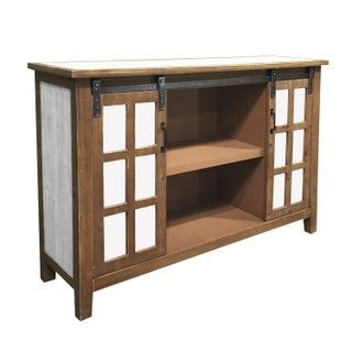 Holland Grace Two Door Wood Slider Cabinet