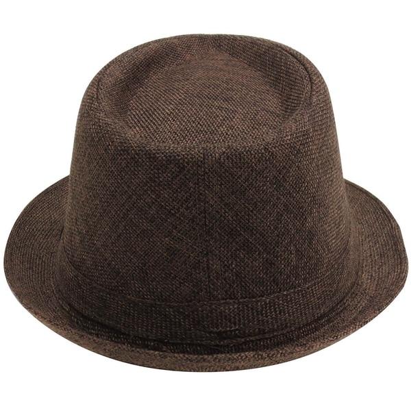 Fedora Hats Women For Women Wide Brim Black Ribbon Hats Trilby Gangster Trendy