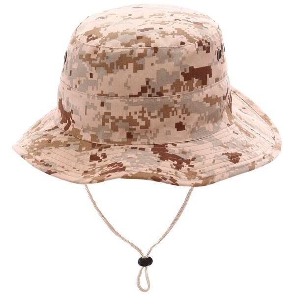 Shop Men   Women 100% Cotton UV Ray Protection Safari Sun Hat ... 654e46c1989