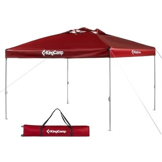 10 x 10 Feet Canopy Outdoor Instant Shade Collapsible with Roller Bag