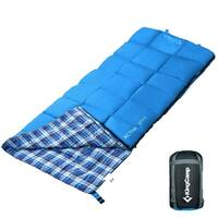 Sleeping Bag Comfort Lightweight Portable 4 Season Warm Cool Weather Adult