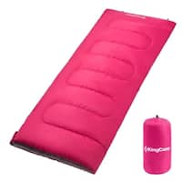 KingCamp Envelop Sleeping Bag Warm Comfort Three- Season Adults