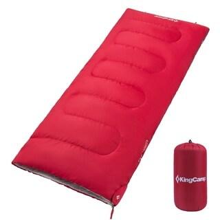 Envelop Sleeping Bag Warm Comfort Three- Season Adults, Compression Sack Waterproof
