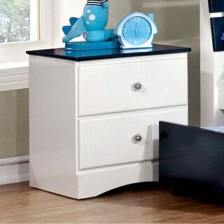 Kimmel Transitional Style Night Stand, White