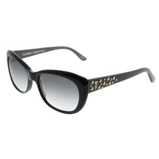 Juicy Couture Cat-Eye 556/S 807 Y7 Women Black Frame Grey Gradient Lens Sunglasses