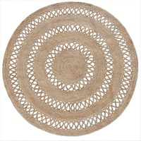 Natural Jute Braided - 8'