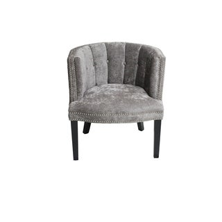 Bohemian Chair Platinum Feather