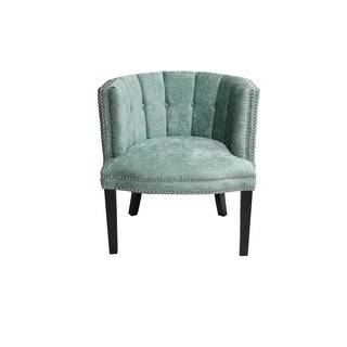 Bohemian Chair Turquoise Feather