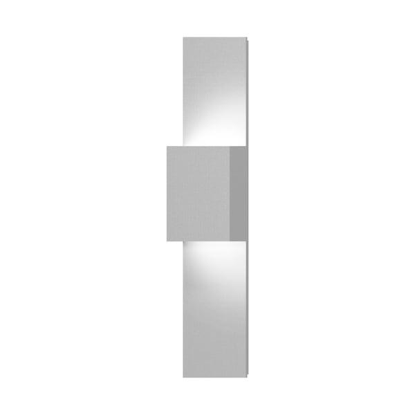 Sonneman Lighting Flat Box 2 Light Ada Textured White Led Outdoor Up Down Panel