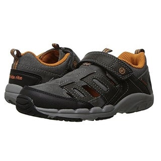 Stride Rite Baby Boy's Made 2 Play Baby Allen Sneaker (Toddler) Grey