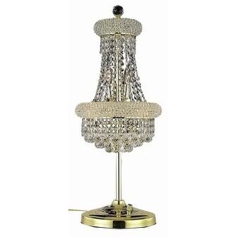 Fleur Illumination 6 light Gold Table Lamp