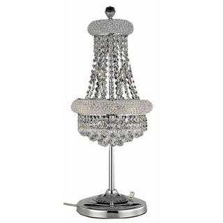 Fleur Illumination 6 light Chrome Table Lamp