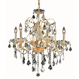 Fleur Illumination 6 light Gold Chandelier (4 options available)