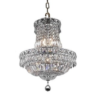 Fleur Illumination 6 light Chrome Pendant