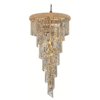 Link to Fleur Illumination 22 light Gold Chandelier Similar Items in Chandeliers