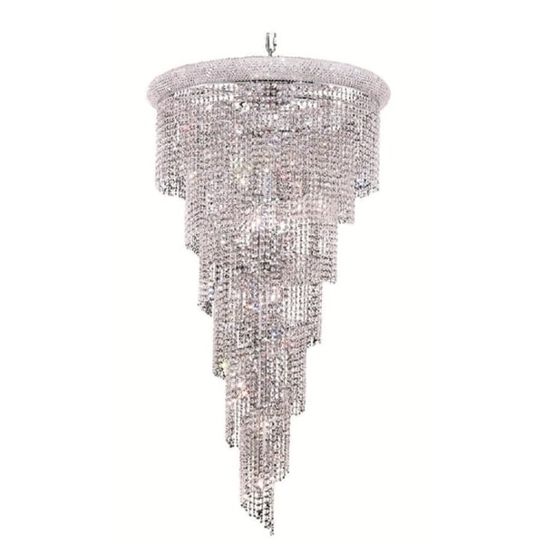 Fleur Illumination 22 light Chrome Chandelier