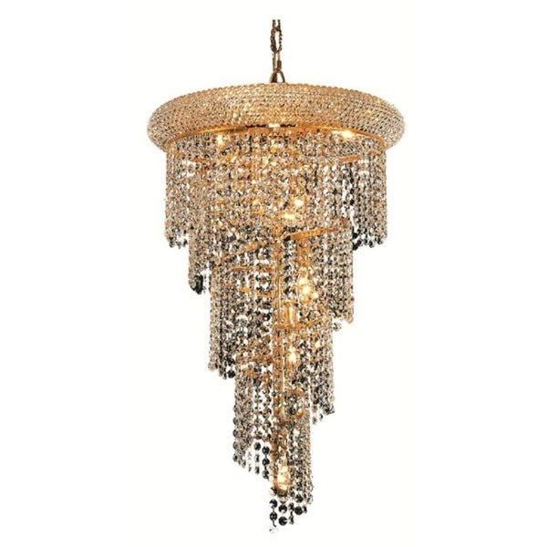 Fleur Illumination 8 light Gold Pendant