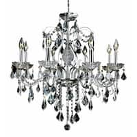 Fleur Illumination 8 light Chrome Chandelier