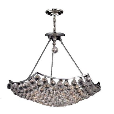 Fleur Illumination 12 light Chrome Chandelier