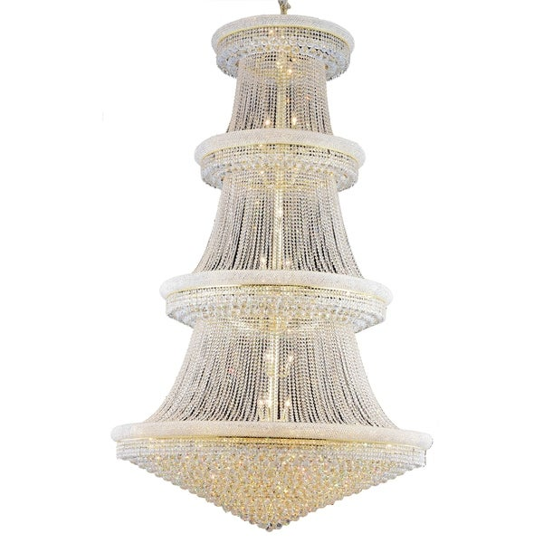 Fleur Illumination 56 light Gold Chandelier