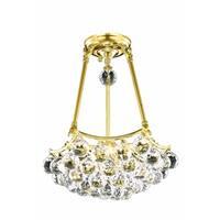 Fleur Illumination 3 light Gold Pendant