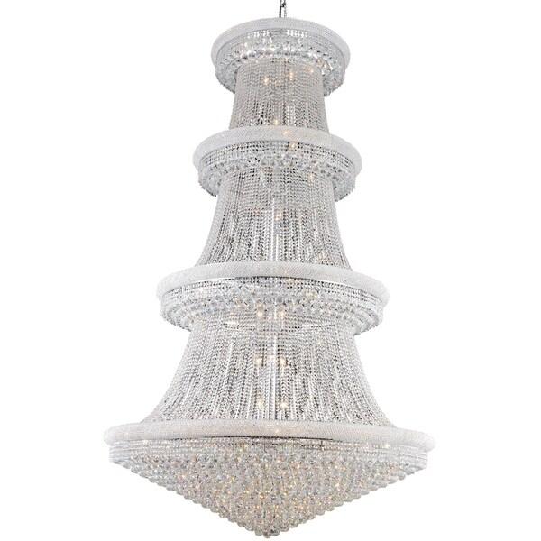 Fleur Illumination 56 light Chrome Chandelier