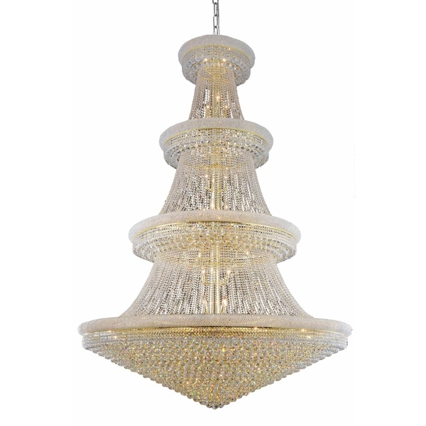 Fleur Illumination 66 light Gold Chandelier