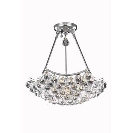 Fleur Illumination 3 light Chrome Pendant