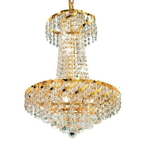 Fleur Illumination 6 light Gold Pendant